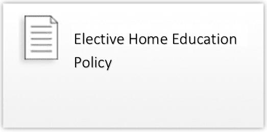 elective home ed